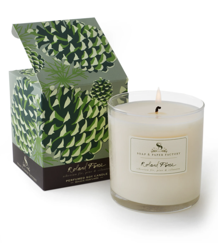 Pine Scented Soy Candle