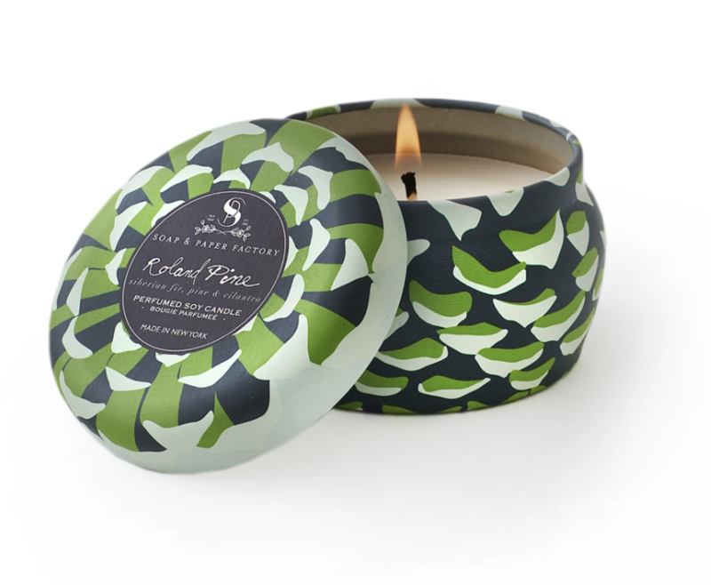 Travel Tin - Pine Scented Soy Candle