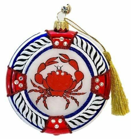 Ahoy Holidays Ornament