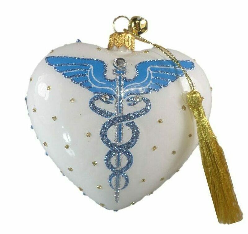 Healthcare Worker Heart Ornament