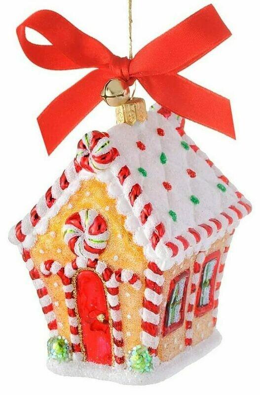 Ginger House Ornament