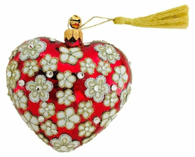 Cherie Heart Ornament