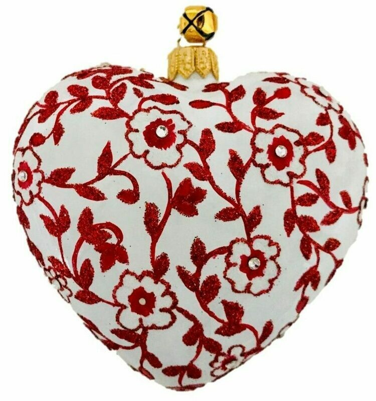 Cara Heart Ornament