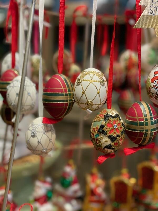 Austrian Painted Christmas Eggs