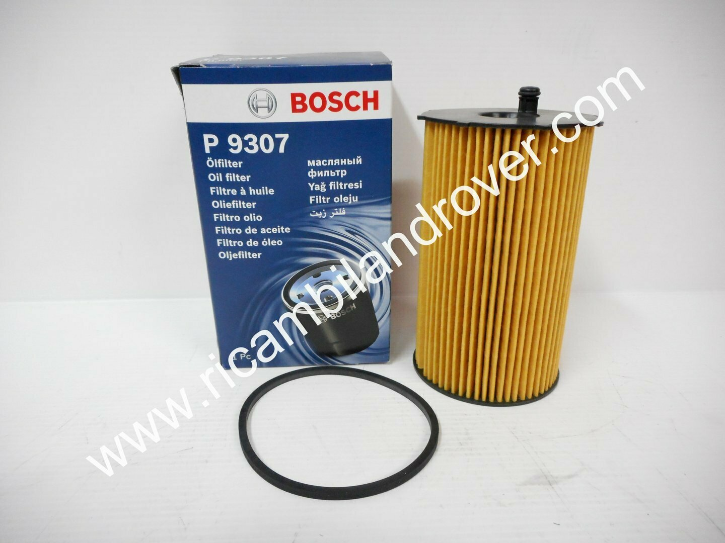FILTRO OLIO BOSCH DISCOVERY 3 DISCOVERY 4 RANGE ROVER SPORT