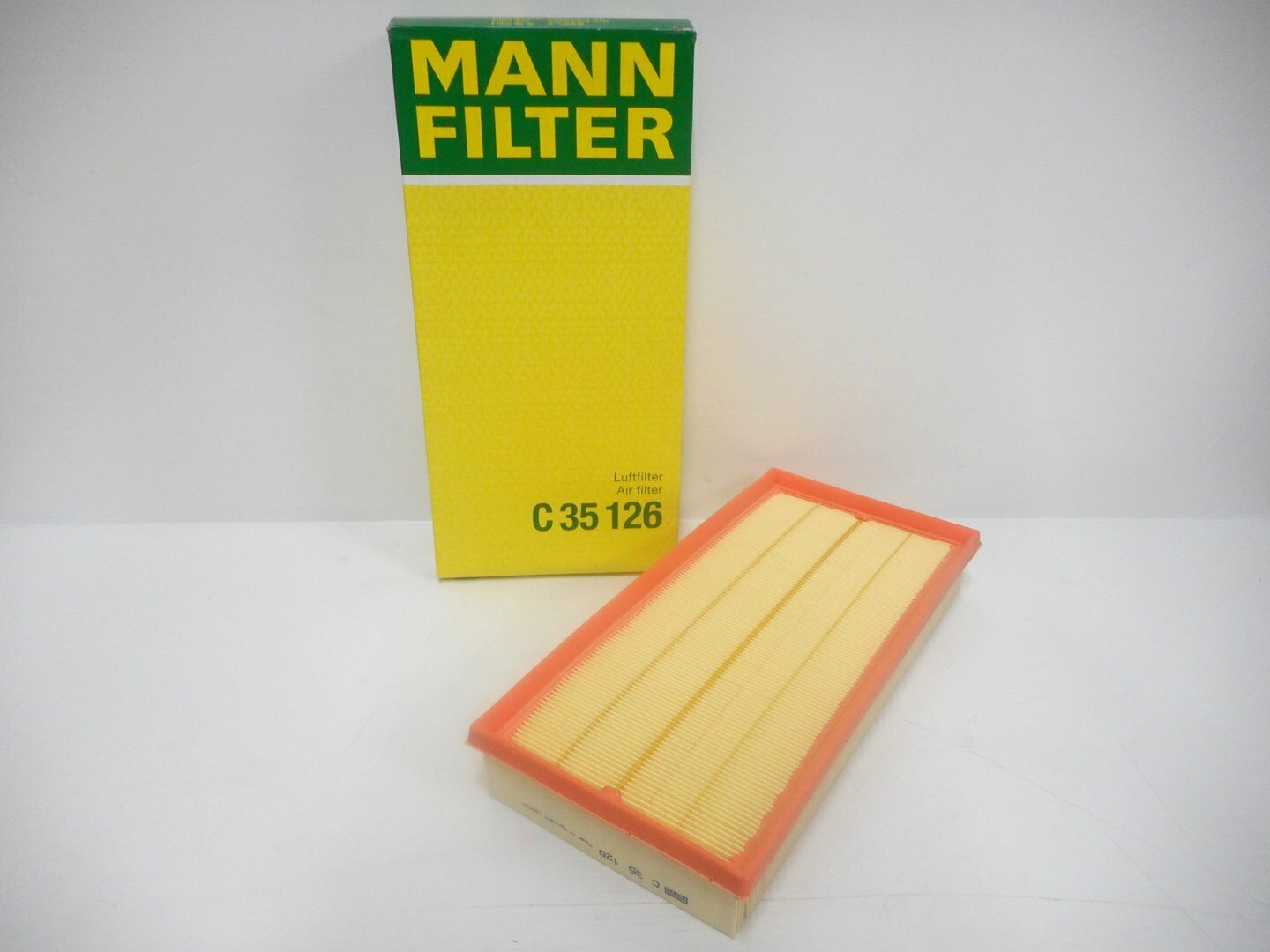 FILTRO ARIA DISCOVERY 4 RANGE ROVER RANGE SPORT MANN FILTER C35126