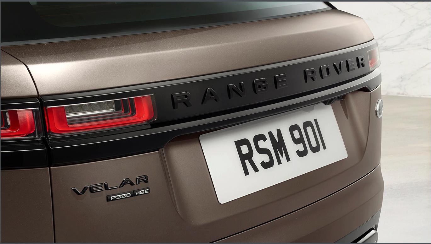 Scritte Range Rover su cofano e portellone - Narvik Black  LR092814