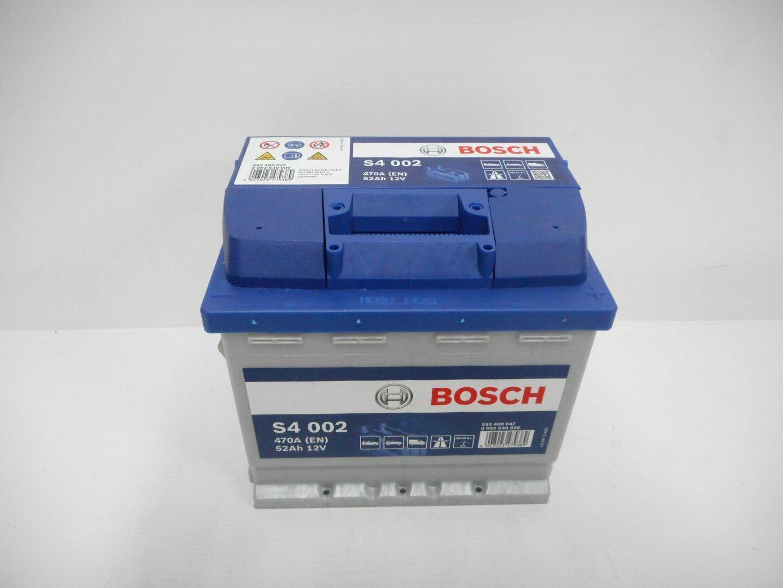 BATTERIA BOSCH 470A 52Ah 12V 0092S40020
