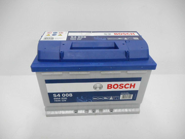 BATTERIA BOSCH 680A 74Ah 12V 0092S40080