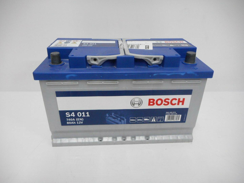 BATTERIA BOSCH  740A 80Ah 12V 0092S40110