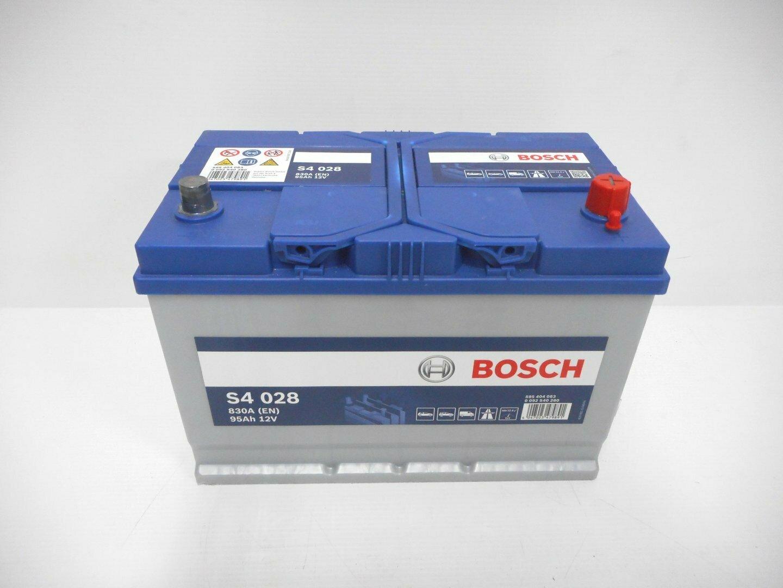 BATTERIA BOSCH 830A 95Ah 12V 0092S40280