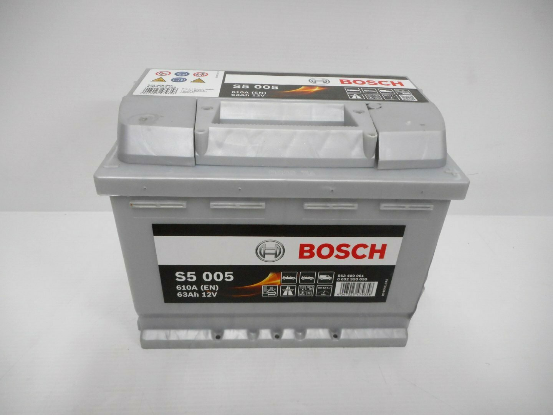 BATTERIA BOSCH 610A 63Ah 12V 0092S50050