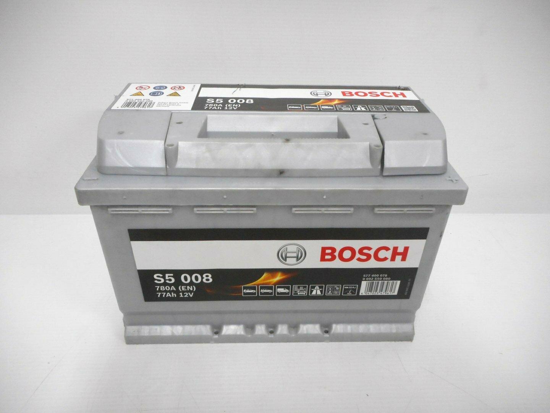 BATTERIA BOSCH 780A 77Ah 12V 0092S50080