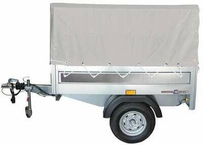 RIMORCHIO TRASPORTO COSE CRESCI  B3-450 CON TELO IN PVC
