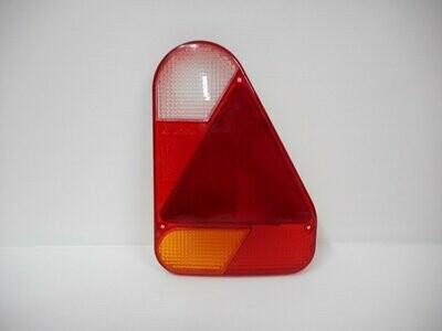 Trasparente Fanale di posizione dx verticale AJ-AB con triangolo rimorchio