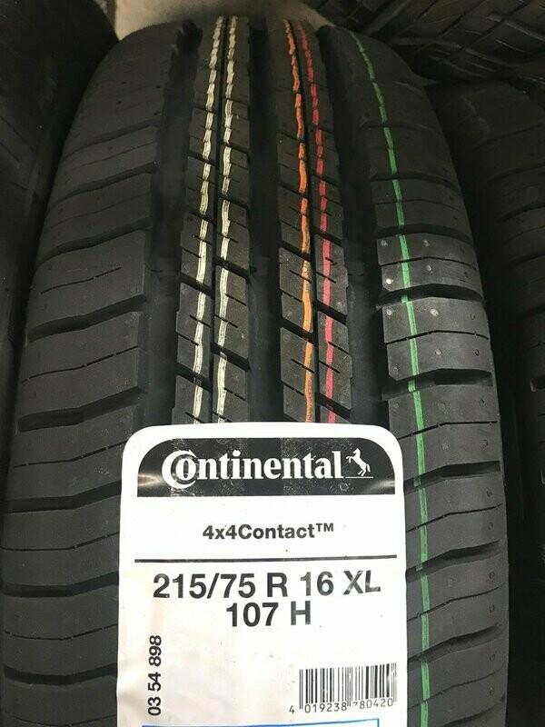 PNEUMATICI CONTINENTAL 4X4Contact 215/75 R 16 XL 107 H