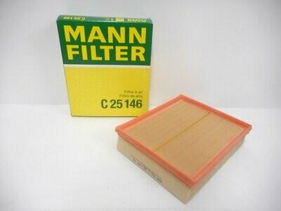 FILTRO ARIA DEFENDER DISCOVERY 2 FREELANDER RANGE ROVER MANN FILTER C25146