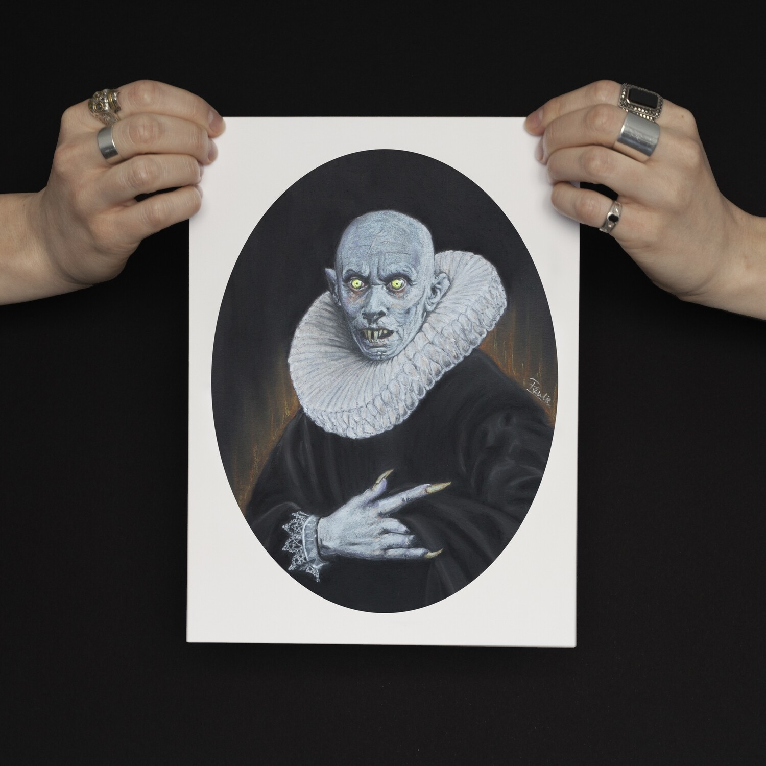 LIMITED EDITION VAMPYRE THEMED GICLEE PRINTS