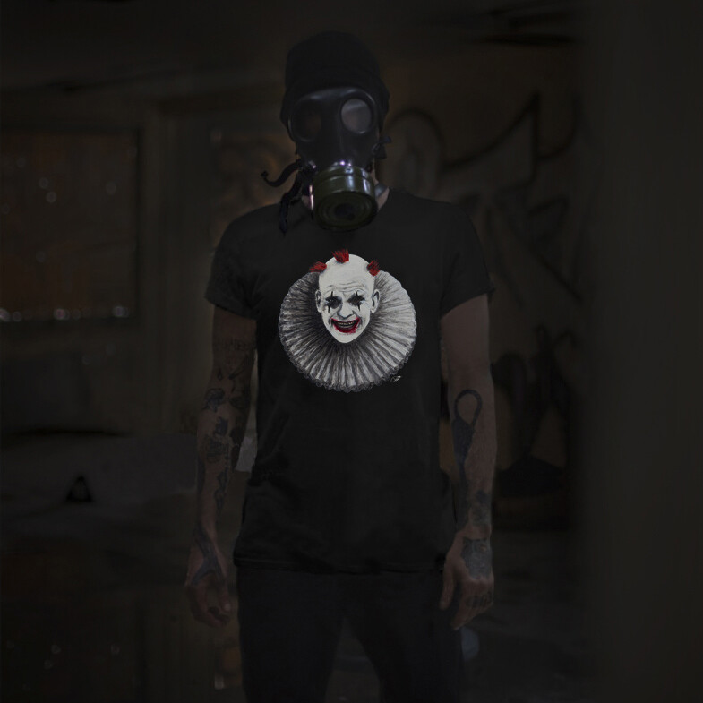 FRENCHIE THE CLOWN UNISEX T