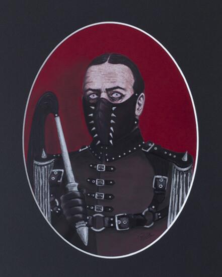 ODD PORTRAITS ORIGINAL ART