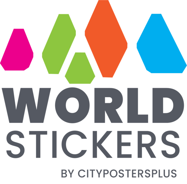 WorldStickers by CityPostersPlus