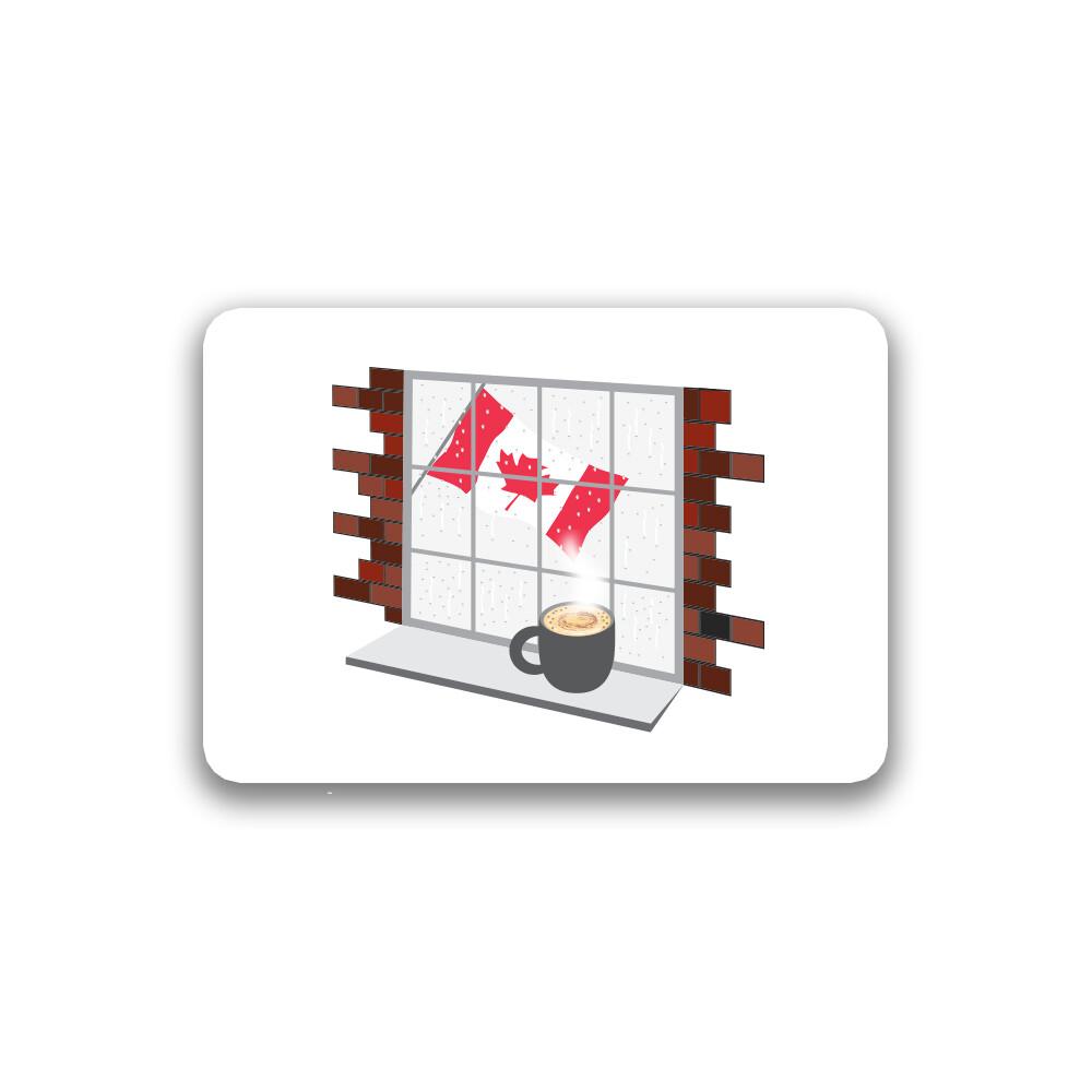 Coffee Rain Sticker