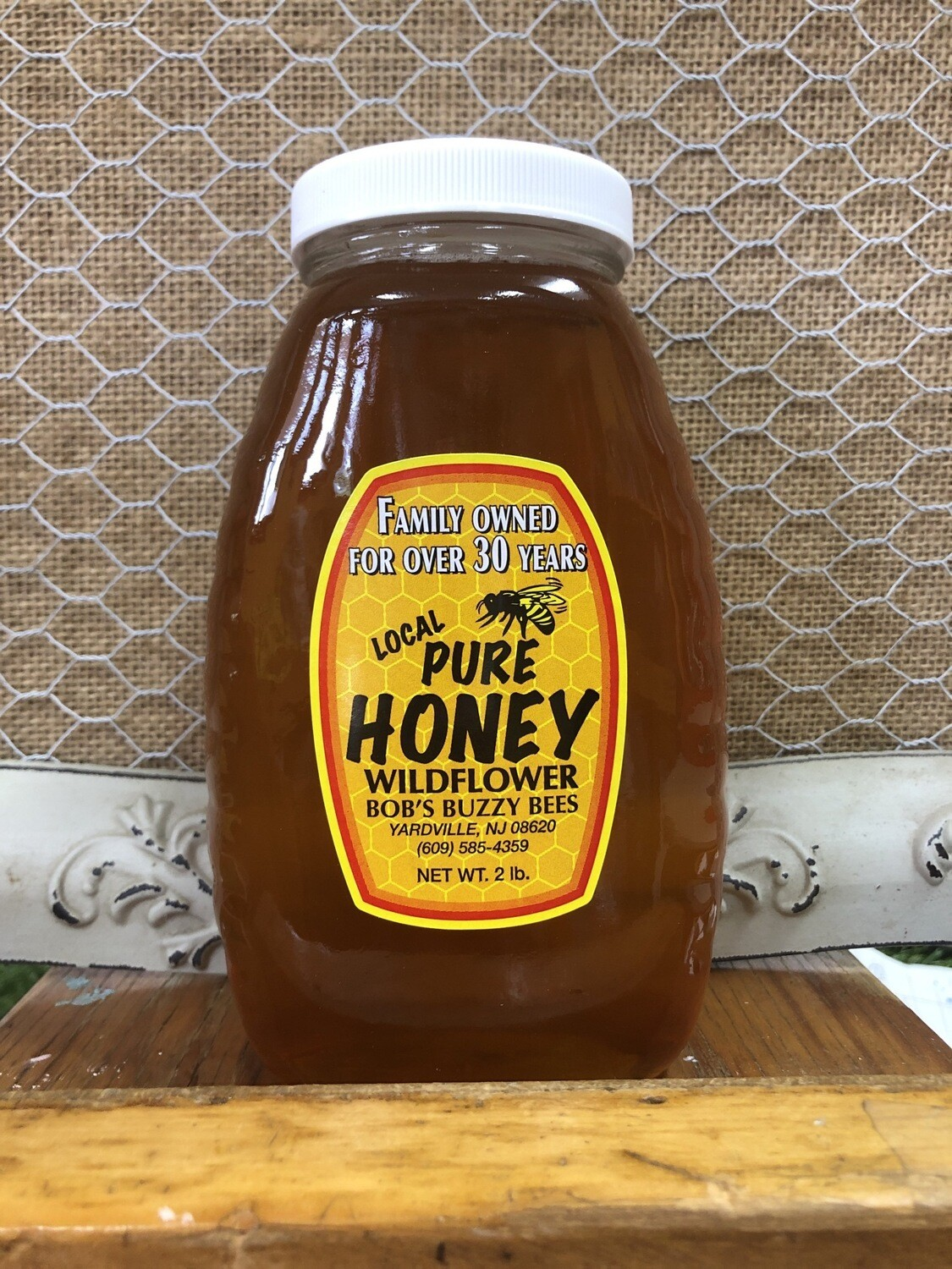 Honey - 2lb Jar, NJ local