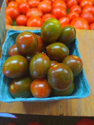 Tomatoes -zebra cherry, Hlubik's