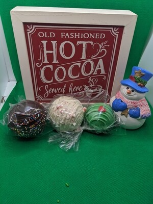 Hot Cocoa Bomb - Set of 3 kids' size