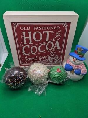 Hot Cocoa Bomb - Set of 3 original size