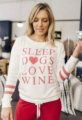 PJS L/S Top Sleep Dogs