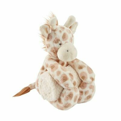 MudPie Giraffe Plush Blanket