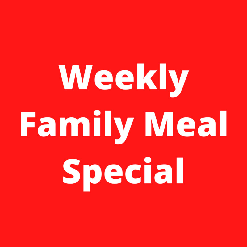 Meatloaf Family Meal Pack
