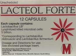 Lacteol Forte capsules 12's