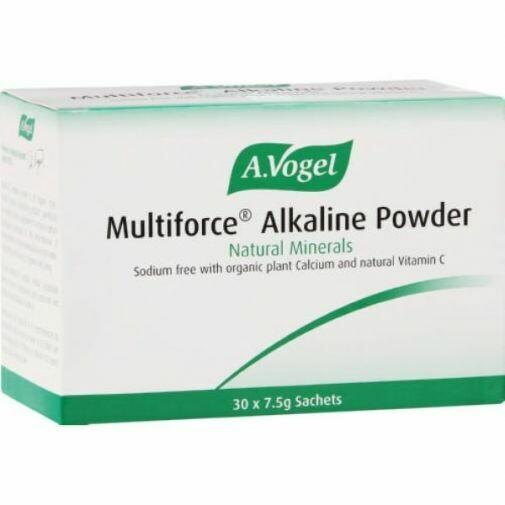 A.Vogel Multiforce Alkaline Powder sachets 30's