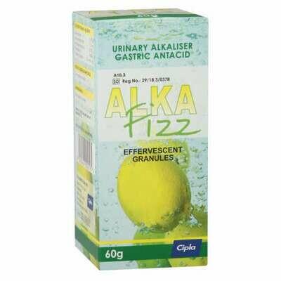 Alkafizz granules 60g