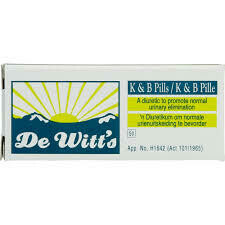 De Witt's K&B Pills 16's