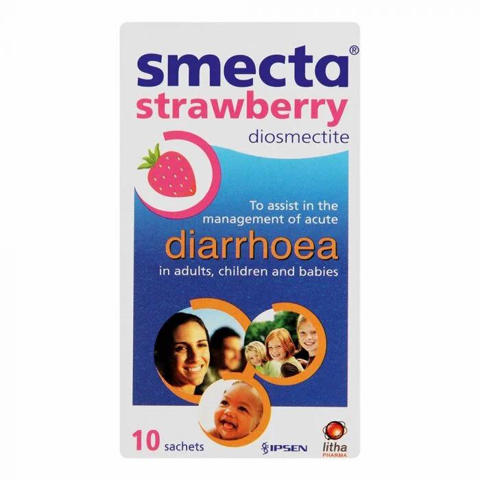 Smecta Strawberry sachets 10's