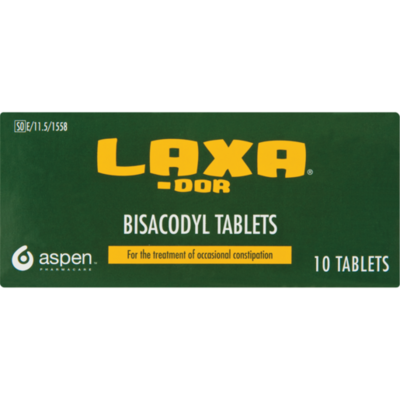 Laxa-Dor tablets 10's