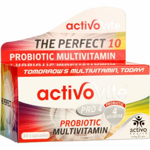 Activo Probiotic 4 strain capsules 30's