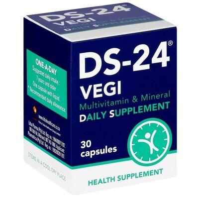 DS-24 Vegi capsules 30's