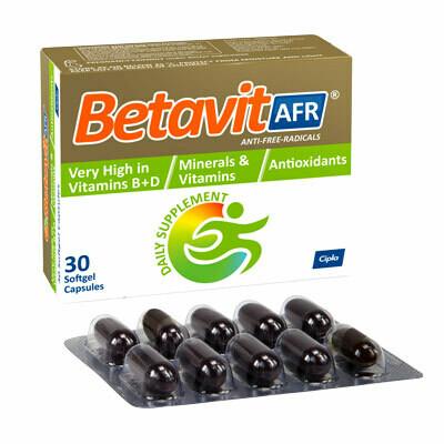 Betavit AFR capsules 30's