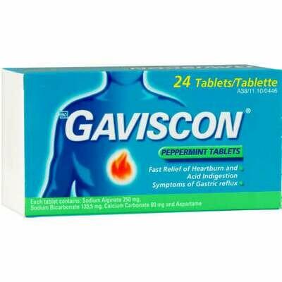 Gaviscon tablets Mint