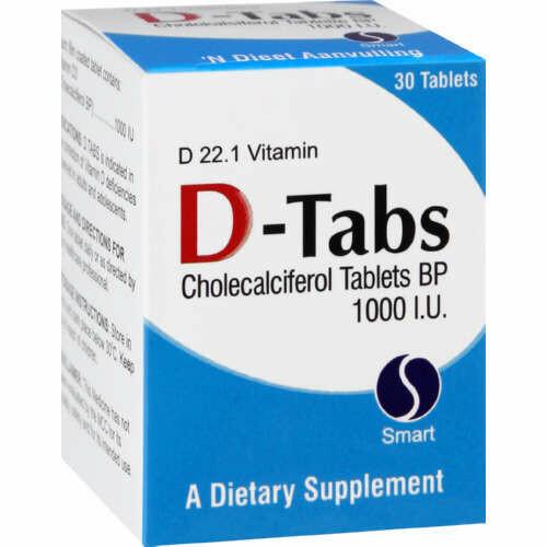 D-tabs 1000ug tablets  30's