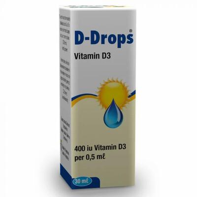 D-Drops VitD3 drops 30ml