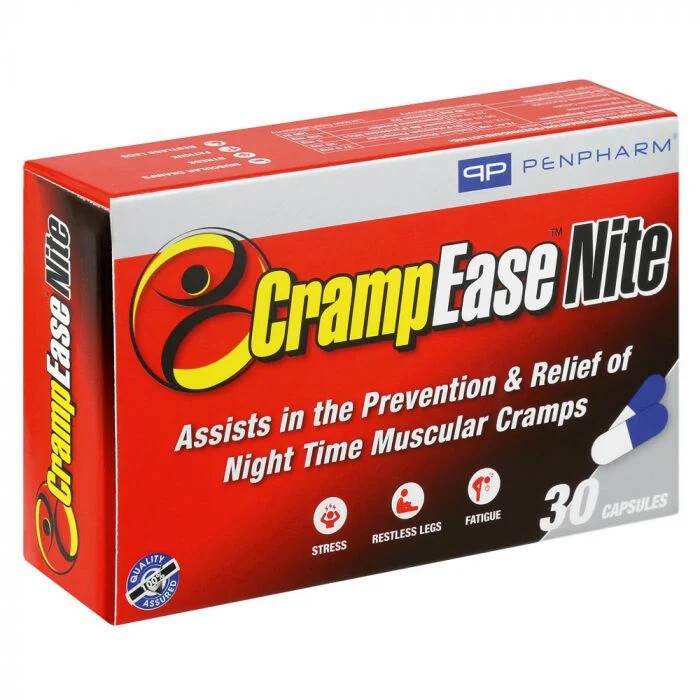 CrampEase Nite capsules 30s