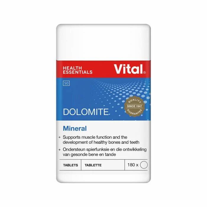 Vital Dolomite tablets 180's