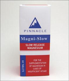 Pinnacle Magni-Slow tablets 60's
