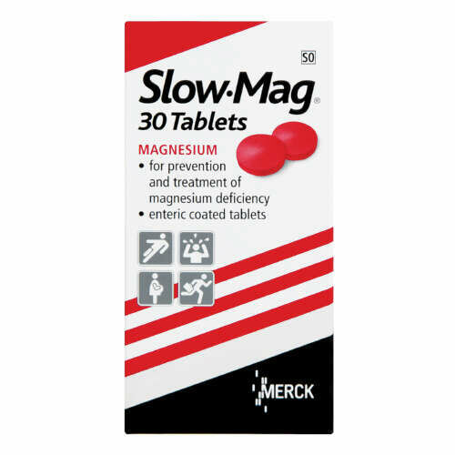 Slow-Mag tablets 30's