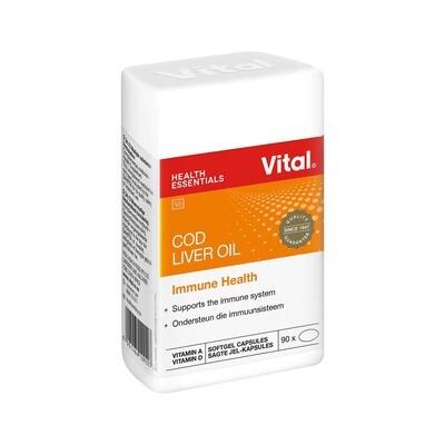 Vital Cod Liver Oil 90's
